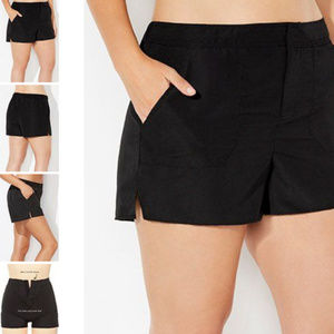 Cargo board swim shorts with built in panty 4c3